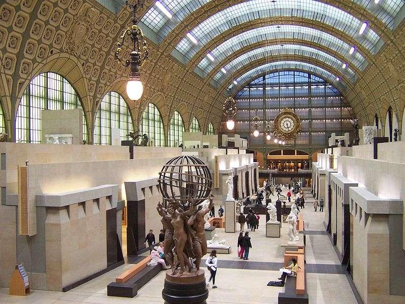 Orsay Müzesi | 1900 Paris Dünya Fuarı İçin Gar Ve Otel Olarak İnşa Edilmiş 1986′te Sanat M