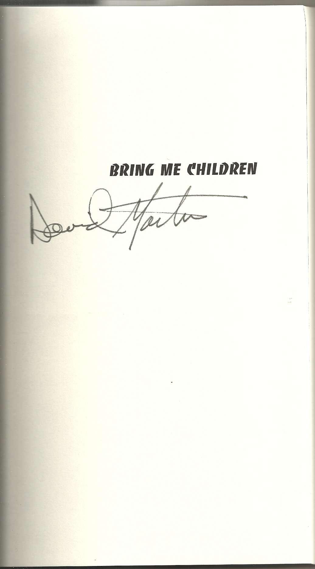 Bring Me Children, Martin, David