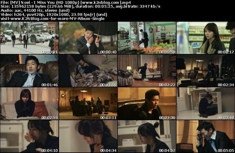 [MV] Noel   I Miss You (HD 1080p Youtube)