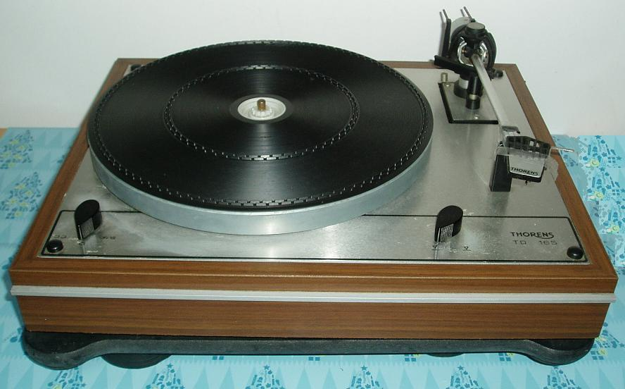 fs thorens td 165 turntable. Black Bedroom Furniture Sets. Home Design Ideas